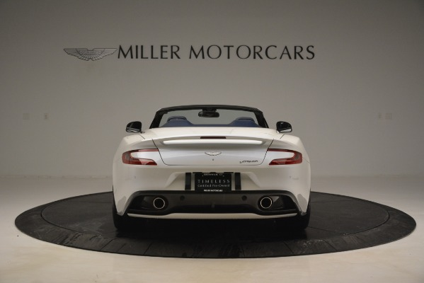 Used 2015 Aston Martin Vanquish Convertible for sale Sold at Rolls-Royce Motor Cars Greenwich in Greenwich CT 06830 6
