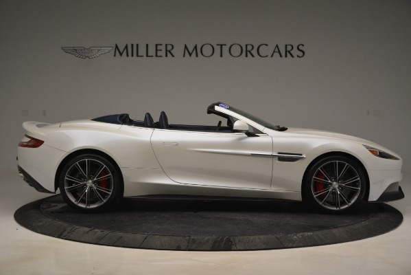 Used 2015 Aston Martin Vanquish Convertible for sale Sold at Rolls-Royce Motor Cars Greenwich in Greenwich CT 06830 9