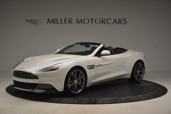 Used 2015 Aston Martin Vanquish Convertible for sale Sold at Rolls-Royce Motor Cars Greenwich in Greenwich CT 06830 1