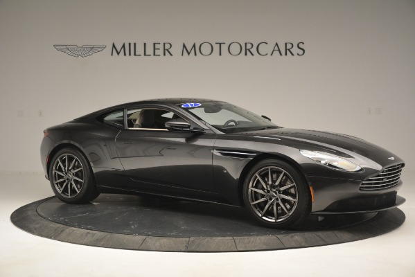 Used 2017 Aston Martin DB11 V12 Coupe for sale Sold at Rolls-Royce Motor Cars Greenwich in Greenwich CT 06830 10
