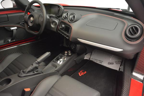 Used 2015 Alfa Romeo 4C for sale Sold at Rolls-Royce Motor Cars Greenwich in Greenwich CT 06830 18