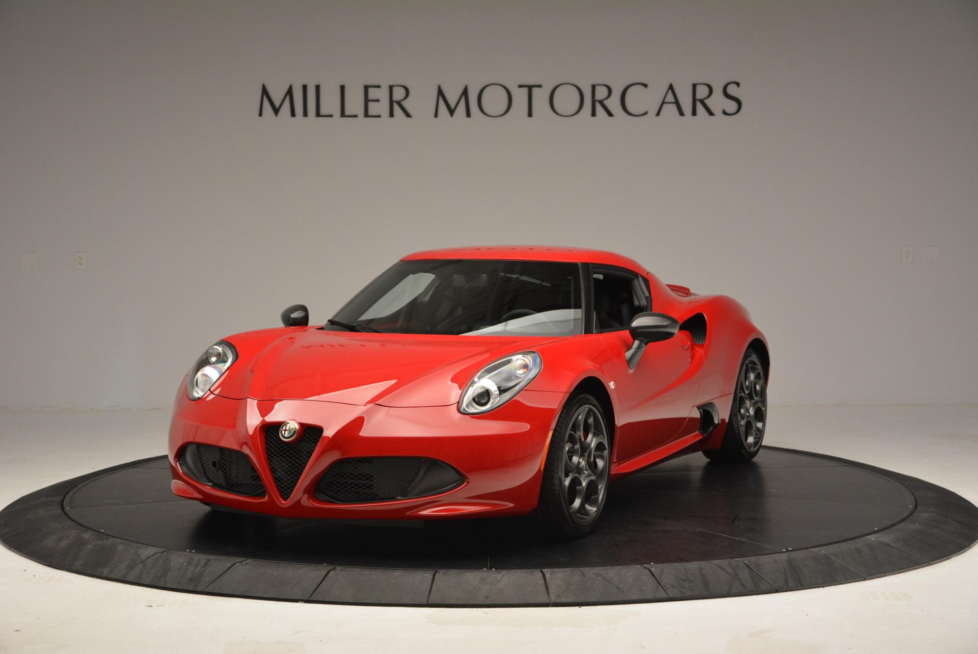 Used 2015 Alfa Romeo 4C for sale Sold at Rolls-Royce Motor Cars Greenwich in Greenwich CT 06830 1