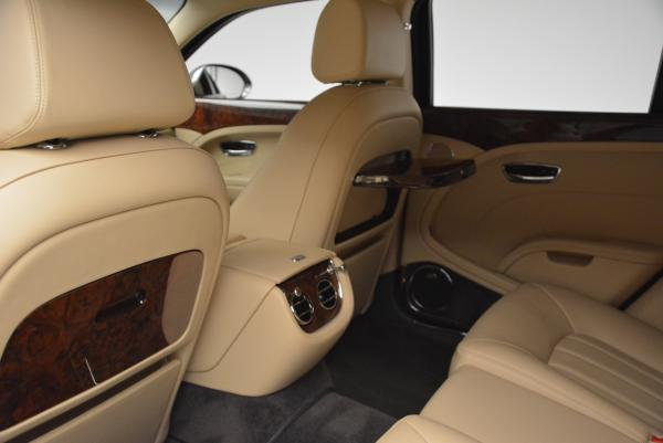 Used 2011 Bentley Mulsanne for sale Sold at Rolls-Royce Motor Cars Greenwich in Greenwich CT 06830 21