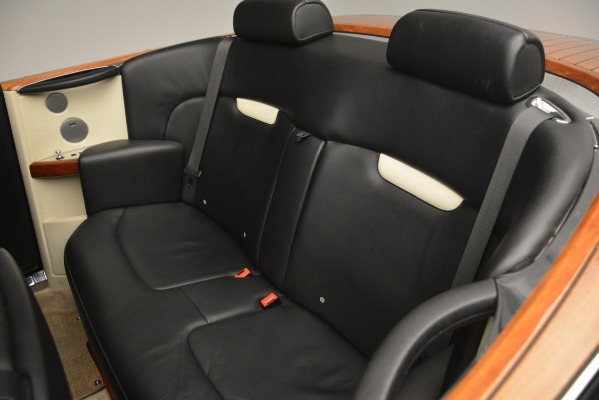 Used 2008 Rolls-Royce Phantom Drophead Coupe for sale Sold at Rolls-Royce Motor Cars Greenwich in Greenwich CT 06830 25
