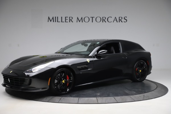 Used 2018 Ferrari GTC4Lusso for sale $209,900 at Rolls-Royce Motor Cars Greenwich in Greenwich CT 06830 2