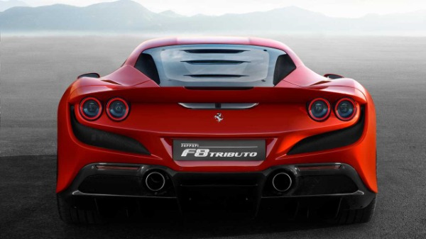 New 2020 Ferrari F8 Tributo for sale Call for price at Rolls-Royce Motor Cars Greenwich in Greenwich CT 06830 5