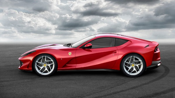 New 2021 Ferrari 812 Superfast for sale Call for price at Rolls-Royce Motor Cars Greenwich in Greenwich CT 06830 2