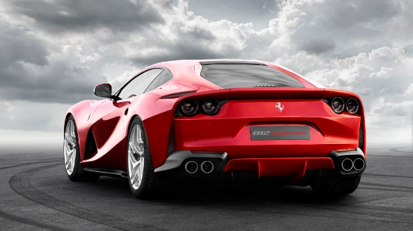 New 2021 Ferrari 812 Superfast for sale Call for price at Rolls-Royce Motor Cars Greenwich in Greenwich CT 06830 3