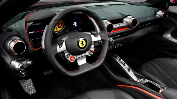New 2020 Ferrari 812 Superfast for sale Call for price at Rolls-Royce Motor Cars Greenwich in Greenwich CT 06830 5