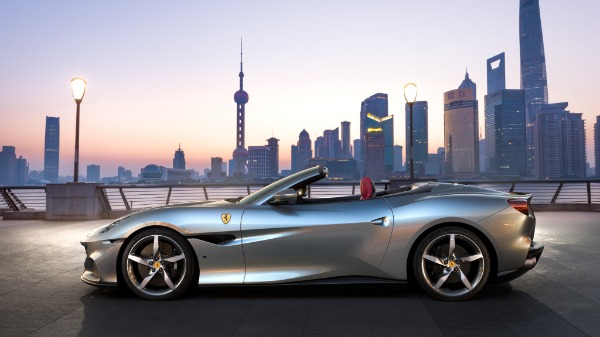 New 2020 Ferrari Portofino for sale Call for price at Rolls-Royce Motor Cars Greenwich in Greenwich CT 06830 2