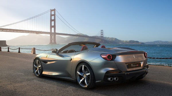 New 2020 Ferrari Portofino for sale Call for price at Rolls-Royce Motor Cars Greenwich in Greenwich CT 06830 3