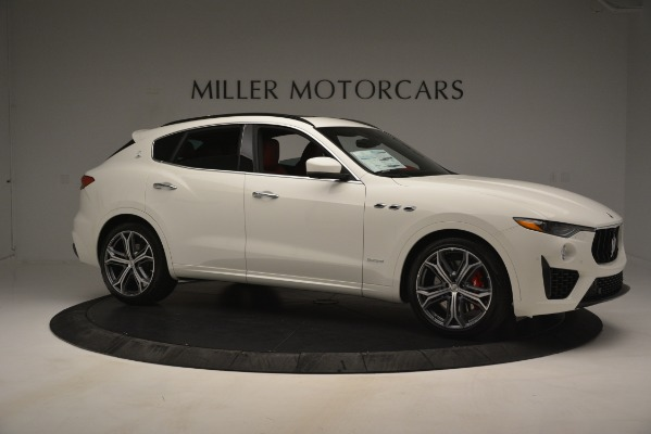 New 2019 Maserati Levante S Q4 GranSport for sale $104,125 at Rolls-Royce Motor Cars Greenwich in Greenwich CT 06830 10