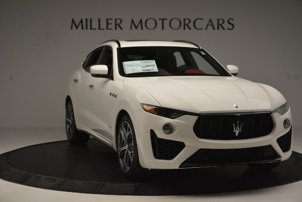 New 2019 Maserati Levante S Q4 GranSport for sale $104,125 at Rolls-Royce Motor Cars Greenwich in Greenwich CT 06830 11
