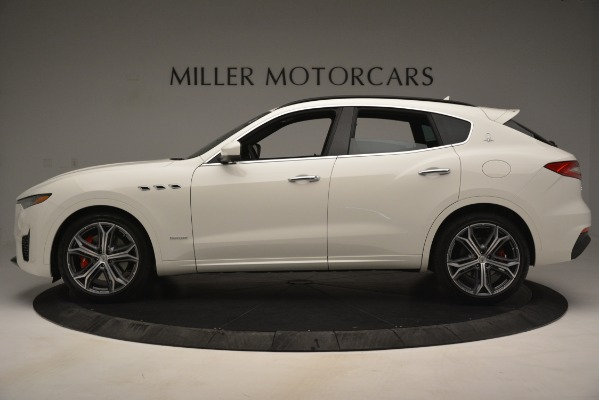 New 2019 Maserati Levante S Q4 GranSport for sale $104,125 at Rolls-Royce Motor Cars Greenwich in Greenwich CT 06830 3