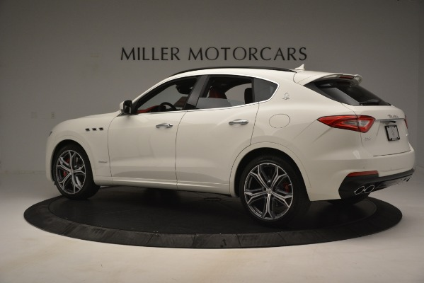 New 2019 Maserati Levante S Q4 GranSport for sale $104,125 at Rolls-Royce Motor Cars Greenwich in Greenwich CT 06830 4