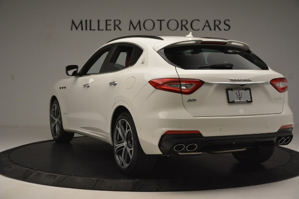 New 2019 Maserati Levante S Q4 GranSport for sale $104,125 at Rolls-Royce Motor Cars Greenwich in Greenwich CT 06830 5