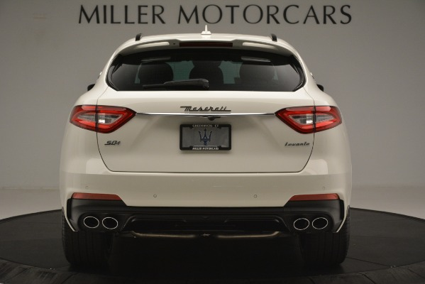 New 2019 Maserati Levante S Q4 GranSport for sale $104,125 at Rolls-Royce Motor Cars Greenwich in Greenwich CT 06830 6