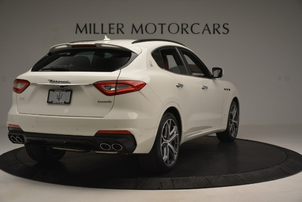 New 2019 Maserati Levante S Q4 GranSport for sale $104,125 at Rolls-Royce Motor Cars Greenwich in Greenwich CT 06830 7