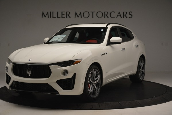 New 2019 Maserati Levante S Q4 GranSport for sale $104,125 at Rolls-Royce Motor Cars Greenwich in Greenwich CT 06830 1