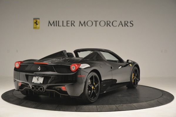Used 2013 Ferrari 458 Spider for sale Sold at Rolls-Royce Motor Cars Greenwich in Greenwich CT 06830 7