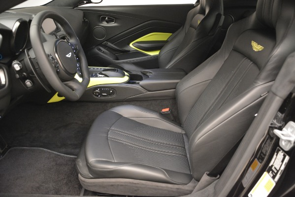 New 2019 Aston Martin Vantage Coupe for sale Sold at Rolls-Royce Motor Cars Greenwich in Greenwich CT 06830 15
