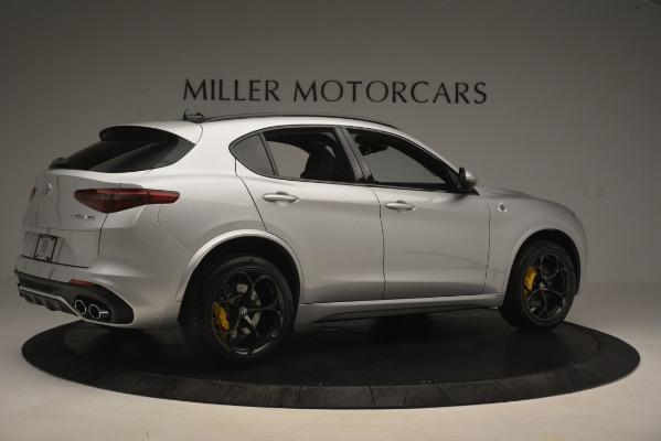 New 2019 Alfa Romeo Stelvio Quadrifoglio for sale Sold at Rolls-Royce Motor Cars Greenwich in Greenwich CT 06830 8