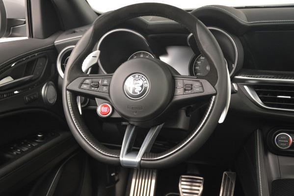 New 2019 Alfa Romeo Stelvio Quadrifoglio for sale Sold at Rolls-Royce Motor Cars Greenwich in Greenwich CT 06830 16