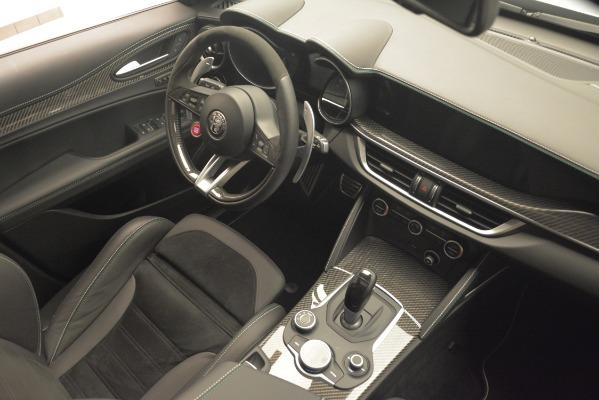 New 2019 Alfa Romeo Stelvio Quadrifoglio for sale Sold at Rolls-Royce Motor Cars Greenwich in Greenwich CT 06830 18
