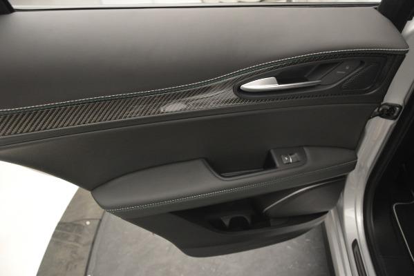 New 2019 Alfa Romeo Stelvio Quadrifoglio for sale Sold at Rolls-Royce Motor Cars Greenwich in Greenwich CT 06830 24