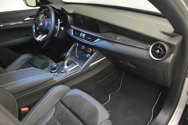 New 2019 Alfa Romeo Stelvio Quadrifoglio for sale Sold at Rolls-Royce Motor Cars Greenwich in Greenwich CT 06830 27