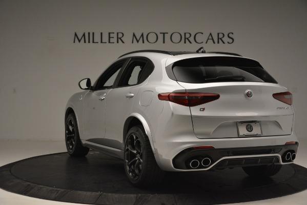 New 2019 Alfa Romeo Stelvio Quadrifoglio for sale Sold at Rolls-Royce Motor Cars Greenwich in Greenwich CT 06830 5