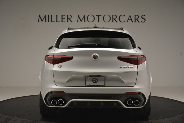 New 2019 Alfa Romeo Stelvio Quadrifoglio for sale Sold at Rolls-Royce Motor Cars Greenwich in Greenwich CT 06830 6