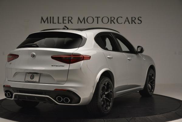 New 2019 Alfa Romeo Stelvio Quadrifoglio for sale Sold at Rolls-Royce Motor Cars Greenwich in Greenwich CT 06830 7