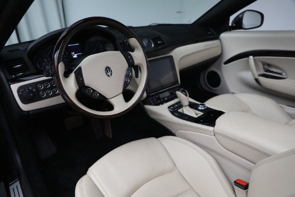 New 2019 Maserati GranTurismo Sport Convertible for sale Sold at Rolls-Royce Motor Cars Greenwich in Greenwich CT 06830 19
