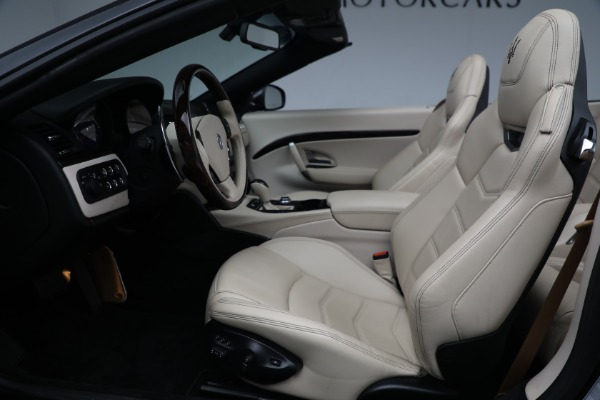 New 2019 Maserati GranTurismo Sport Convertible for sale Sold at Rolls-Royce Motor Cars Greenwich in Greenwich CT 06830 20