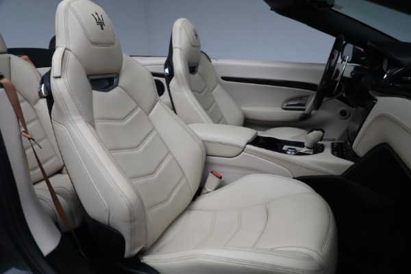 New 2019 Maserati GranTurismo Sport Convertible for sale Sold at Rolls-Royce Motor Cars Greenwich in Greenwich CT 06830 23