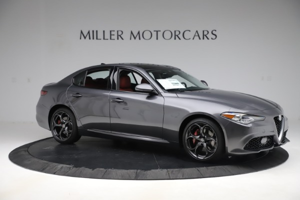 New 2019 Alfa Romeo Giulia Ti Sport Q4 for sale $52,340 at Rolls-Royce Motor Cars Greenwich in Greenwich CT 06830 10