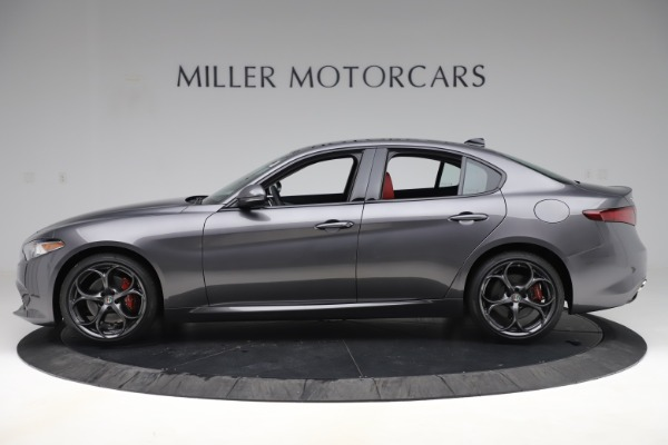 New 2019 Alfa Romeo Giulia Ti Sport Q4 for sale $52,340 at Rolls-Royce Motor Cars Greenwich in Greenwich CT 06830 3