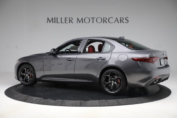 New 2019 Alfa Romeo Giulia Ti Sport Q4 for sale $52,340 at Rolls-Royce Motor Cars Greenwich in Greenwich CT 06830 4