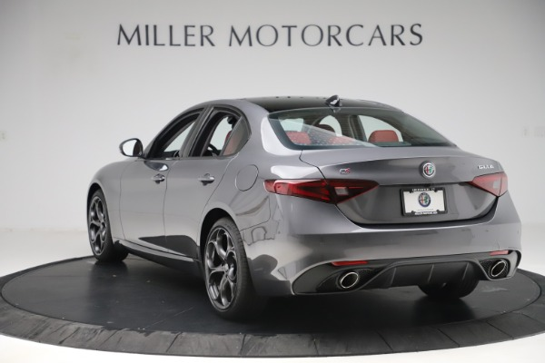 New 2019 Alfa Romeo Giulia Ti Sport Q4 for sale $52,340 at Rolls-Royce Motor Cars Greenwich in Greenwich CT 06830 5