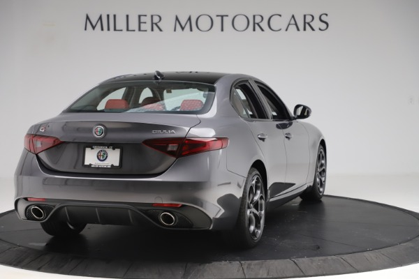 New 2019 Alfa Romeo Giulia Ti Sport Q4 for sale $52,340 at Rolls-Royce Motor Cars Greenwich in Greenwich CT 06830 7