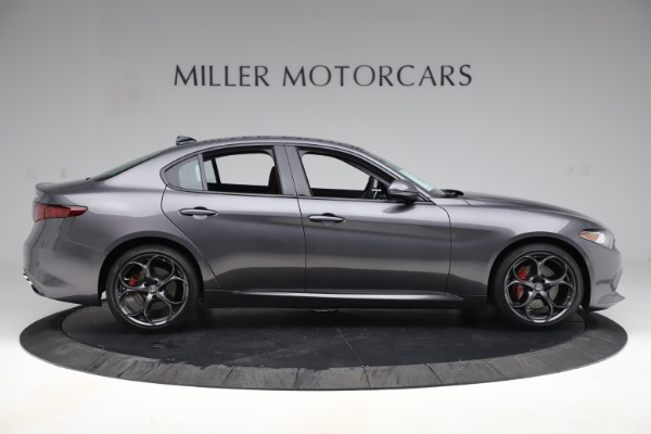 New 2019 Alfa Romeo Giulia Ti Sport Q4 for sale Sold at Rolls-Royce Motor Cars Greenwich in Greenwich CT 06830 9