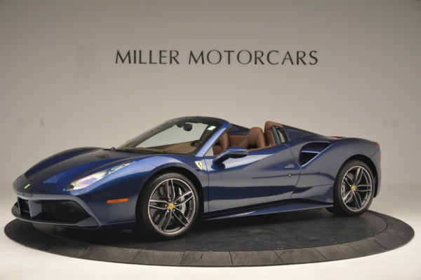 Used 2018 Ferrari 488 Spider for sale $289,900 at Rolls-Royce Motor Cars Greenwich in Greenwich CT 06830 2
