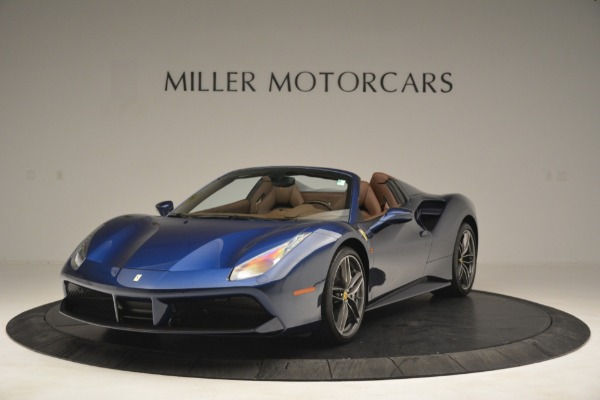 Used 2018 Ferrari 488 Spider for sale $289,900 at Rolls-Royce Motor Cars Greenwich in Greenwich CT 06830 1