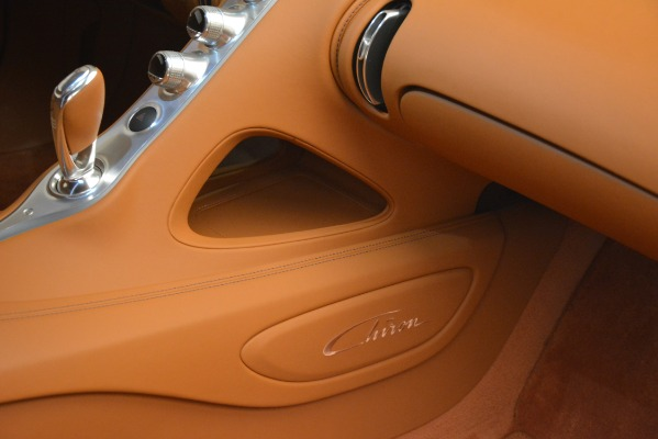 Used 2019 Bugatti Chiron for sale $3,100,000 at Rolls-Royce Motor Cars Greenwich in Greenwich CT 06830 27