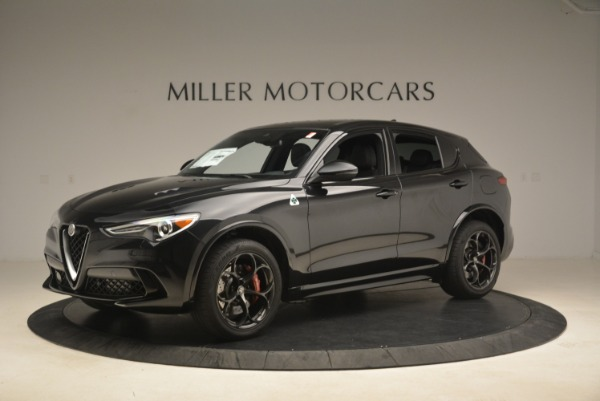 New 2019 Alfa Romeo Stelvio Quadrifoglio for sale Sold at Rolls-Royce Motor Cars Greenwich in Greenwich CT 06830 2