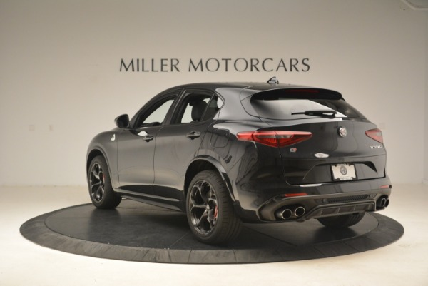 New 2019 Alfa Romeo Stelvio Quadrifoglio for sale Sold at Rolls-Royce Motor Cars Greenwich in Greenwich CT 06830 5