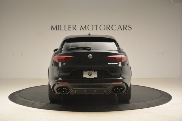 New 2019 Alfa Romeo Stelvio Quadrifoglio for sale Sold at Rolls-Royce Motor Cars Greenwich in Greenwich CT 06830 6