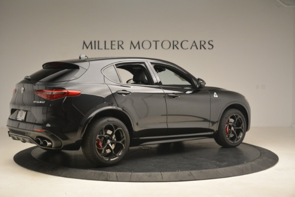 New 2019 Alfa Romeo Stelvio Quadrifoglio for sale Sold at Rolls-Royce Motor Cars Greenwich in Greenwich CT 06830 8