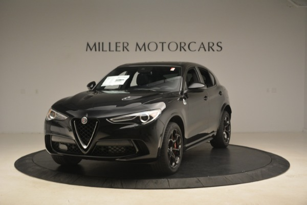 New 2019 Alfa Romeo Stelvio Quadrifoglio for sale Sold at Rolls-Royce Motor Cars Greenwich in Greenwich CT 06830 1